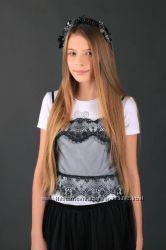 Шикарная очень нарядная блузка ТМ MONE