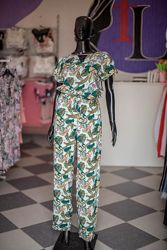Костюм комбинезон с кюлотами в стиле Zara XL