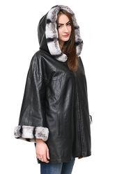 Куртка кожаная двусторонняя с натуральным мехом Рекс. Есть размеры.