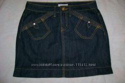 Красивая новая джинсовая юбочка из тонкого джинса
