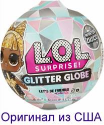 Кукла ЛОЛ Зимнее диско Оригинал LOL Surprise Glitter Globe Winter Disco