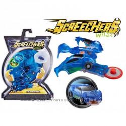 Дикие Скричеры машинка трансформер Джейхок Screechers Wild Jayhawk Vehicle