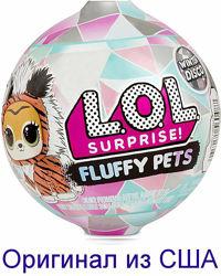 ЛОЛ Пушистый питомец Серия Зимнее диско LOL Surprise Fluffy Pets дискотека