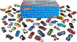 Хот Вилс Набор машинок 50 шт Hot Wheels Basic Car 50-Pack
