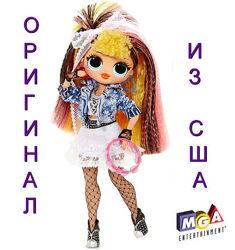 Большая кукла ЛОЛ ОМГ Ремикс Диско Леди Поп Би Би LOL Surprise OMG Remix