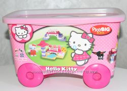 Детский конструктор Тележка Hello Kitty  BIG