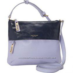 Нова комбінована шкіряна сумочка через плече.