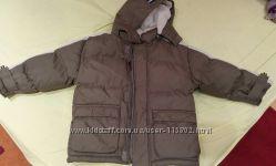 Зимова тепла куртка на 5-6р.