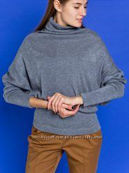 GrandUA теплий светр Роні колір сталь. Оверсайз.