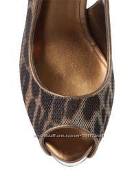 GUESS Hondola - нові туфельки, леопард, бронза.