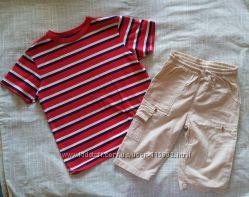 Пакет р. 116-134 футболки з бриджами 5-7 років