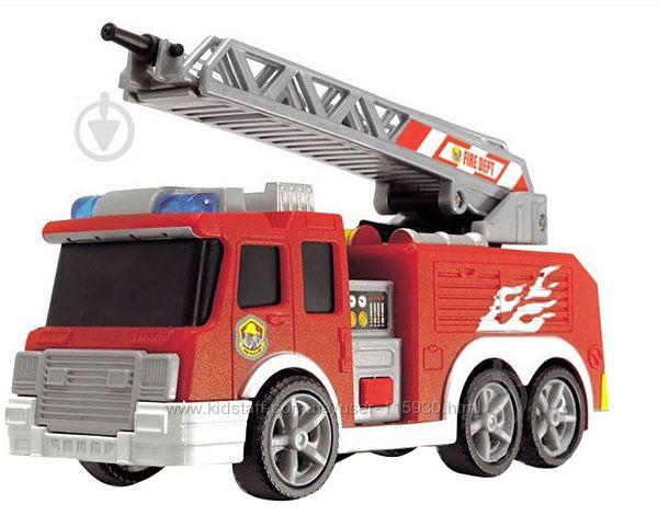 Машинка Dickie Toys Пожарная служба - звук, свет
