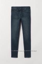 Мужские джинсы скинни h&m р. 30-32