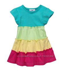 Летнее платье для девочки р. 86