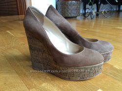 Итальянские туфли на платформе 37 размер