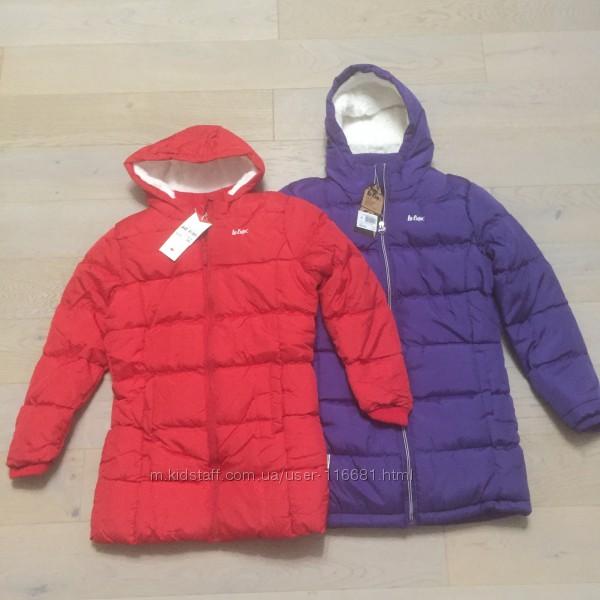 Дутые пальто куртка парка Lee Cooper на 7 - 13 р. зима. нові