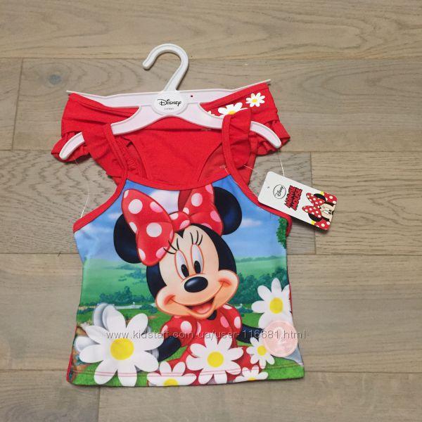 Купальник раздельный Disney Minnie Mouse 4 - 10 р