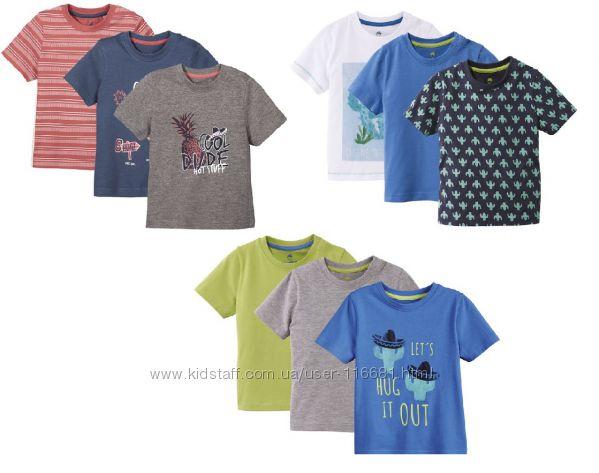 Комплект футболок футболка Lupilu 110 - 116, 98 - 104