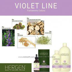 Комплекс от выпадения волос BES Hergen Violet Line