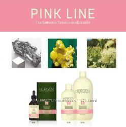 Комплекс для жирных волос BES Hergen Pink Line