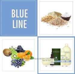 Реконструкция и увлажнение волос  BES Hergen Blue Line