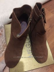 натуральный замш ботиночки