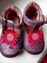Фирменные туфли для малышки р. 17 Франция