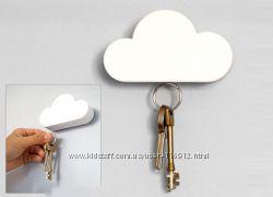 Магнитная ключница- облакоюОчень удобная, хорошо держит ключи