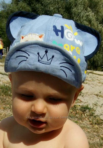 Оригинальная и нарядная панамка на мальчика