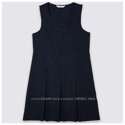 Сарафан, платье Marks & Spencer школьная форма р. 122