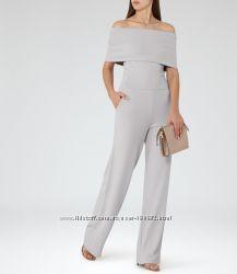 Комбинезон с широкими штанами бренда reiss p. 10 открытые плечи нарядный вы
