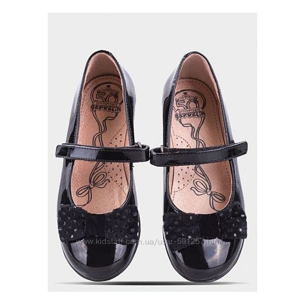 Детские туфельки Garvalin 32 размер 20-20. 5 по стелечке