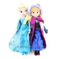 Мягкая плюшевая кукла Анна и Эльза Холодное сердце