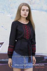 Блуза с вышивкой Вышиванка