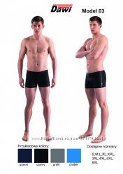Плавки шорты для купания DAWI 03 размеры от S до 6xl