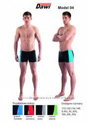 Плавки шорты для бассейна и пляжа DAWI 04 в размерах от S до 5XL