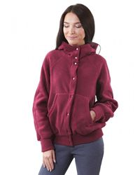 Женская теплая кофта куртка  с капюшоном, флиска