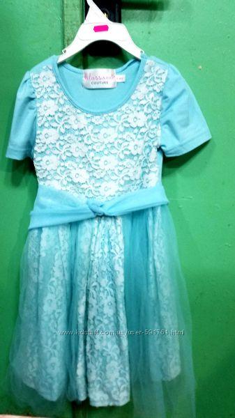 Платье с фатином на 5 лет