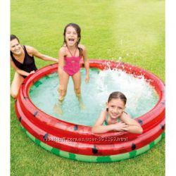 Детский надувной бассейн Арбуз