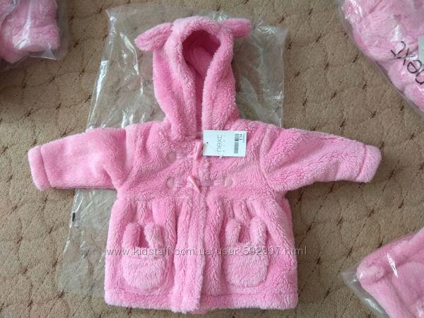 Красивая кофта-пальто Next для девочки от 0 до 6м Есть опт