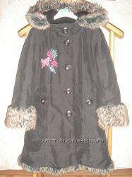 Оригинальное тёплое пальто butterfly by matthew williamson