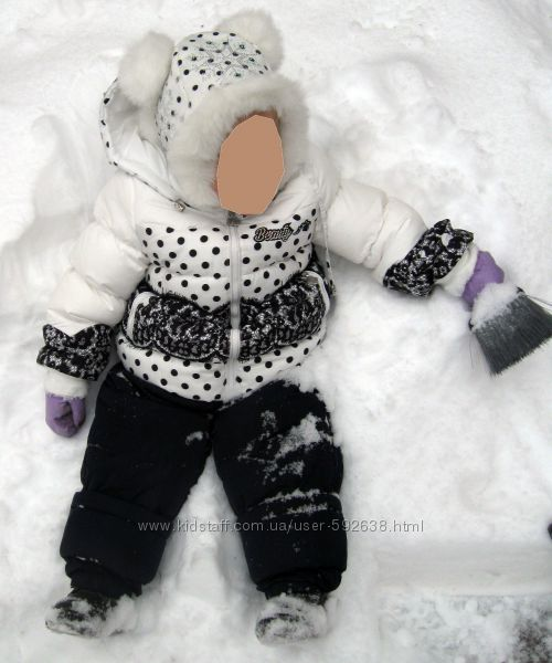 Зимний комбинезон Bilemi с термодатчиком для девочки, шапочка, сапожки
