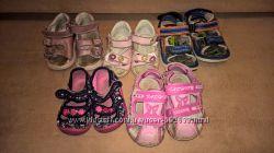 Микс летней обуви на девочку р. 18-22, 24-25