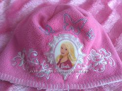 Barbie шапка для девочки на ОГ 52-54см.