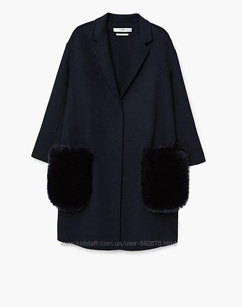 Фирменное пальто Mango