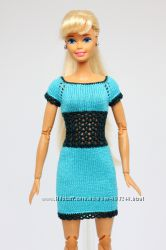Одежда для барби платье