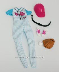 аутфит барби бейсболистки одежда барби