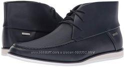 Calvin Klein ботинки мужчине, 42 9 US. Кожа Оригинал