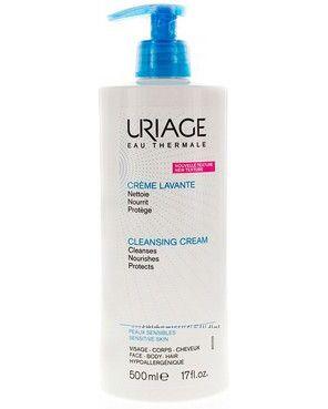 Очищающий пенящийся крем Uriage Lavante Сleansing Cream