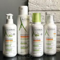 A-derma Exomega   весь уход при атопическом дерматите